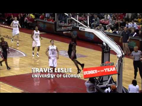 Travis Leslie - Georgia (Dunk of the Year Nominee)