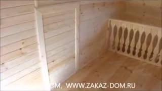 Строительство домов из профилированного бруса под ключ(Заказать постройку деревянного дома из профилированного бруса вы можете нашем сайте: http://fr-dom.justclick.ru/brus..., 2013-08-14T11:51:46.000Z)