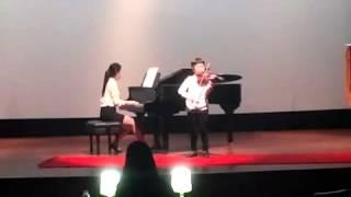 바이올린 콩쿨 3학년 박민재