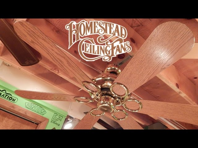 Homestead ceiling fans nhltv homestead vogue fan ceiling fan 1080p hd remake aloadofball Images
