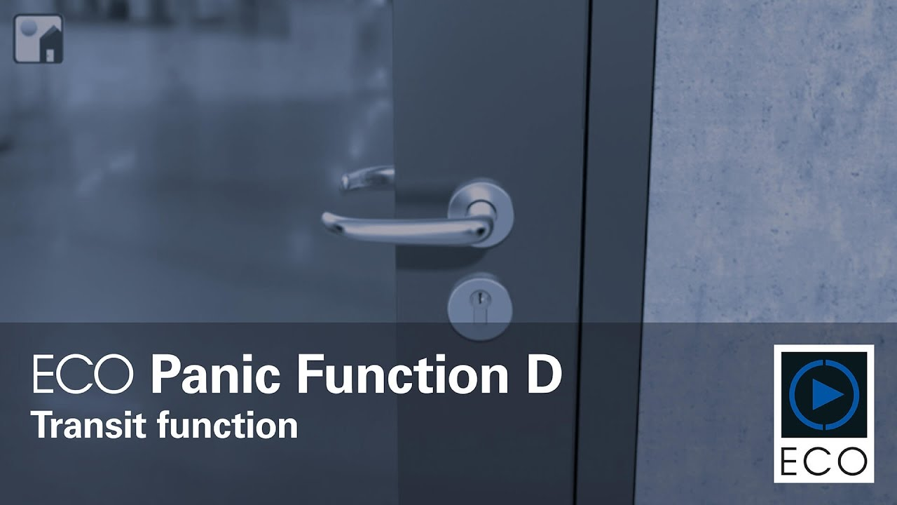 ECO Panic Functions - Video - ECO Schulte - System