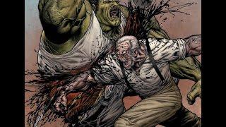 Logan-La Historia de Old Man Logan-Wolverine mata a hulk