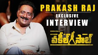 Prakash Raj Exclusive Interview - Vakeel Saab | Biggest Power Packed Blockbuster | Pawan Kalyan Image