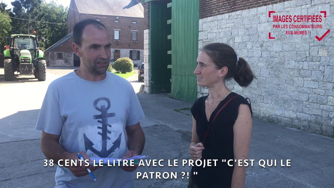 """REPORTAGE : LES CONSOS VÉRIFIENT LE CAHIER DES CHARGES DU LAIT """"C'EST QUI LE PATRON?!"""" ! 😊"""