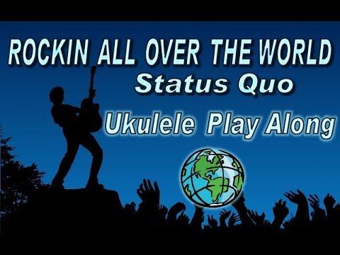 Rockin All Over The World Ukulele Play Along Easy Youtube