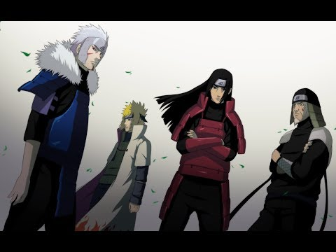 Naruto AMV「Heroes」Departed Hokages - Tribute