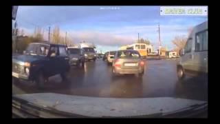 Дорожные истории - аварии, приколы, интересные случай декабрь 2013