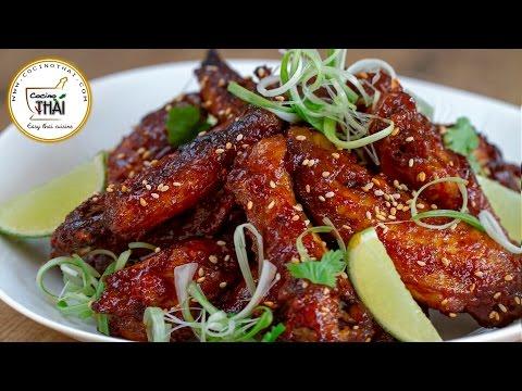 Vídeo-receta: alitas de pollo picantes (estilo Thai) | Sabor de Asia