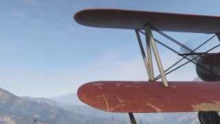 ✈ Crop Duster (Fixed Wing) (Gameplay) Grand Theft Auto V | PS4 | First Person