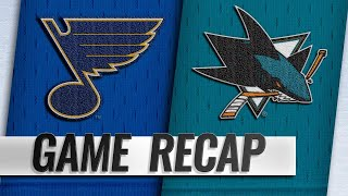 Karlsson scores first goal with Sharks in 4-0 win
