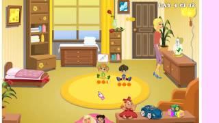 Играть в игру — уход за детьми
