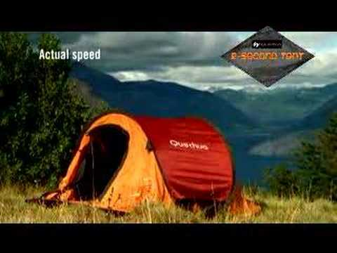 Instant C&fire Decathlon 2 Second Tent spot by Fuseideas & Instant Campfire Decathlon 2 Second Tent spot by Fuseideas - YouTube