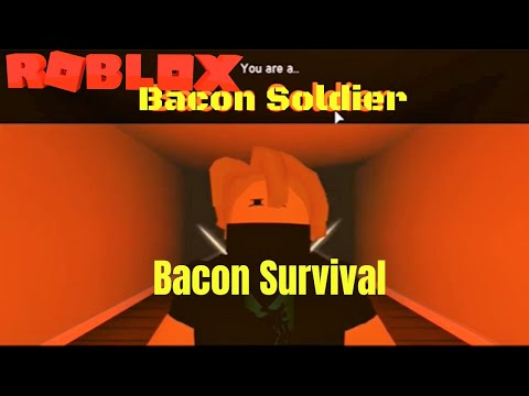 Bacon Soldier | Bacon Survival | Roblox Guest World