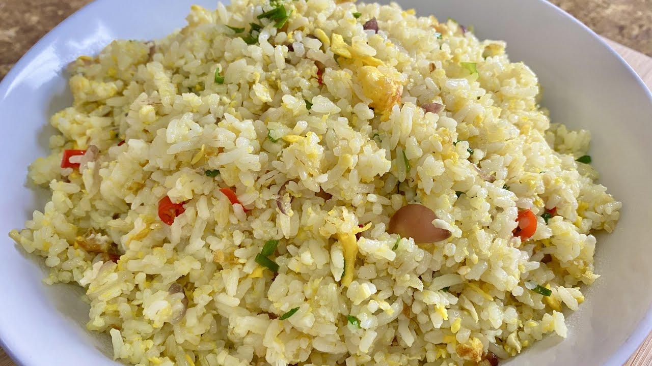 Nasi Goreng Telur Paling Mudah Sedap Egg Fried Rice Youtube