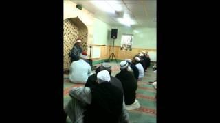 SHEIKH AYYUB MOHAMMAD ASIF, UK TOUR 2011, BRADFORD