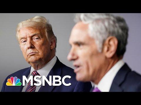 Trump, Fox News Misinformation Affliction Complicates Covid-19 Response   Rachel Maddow   MSNBC
