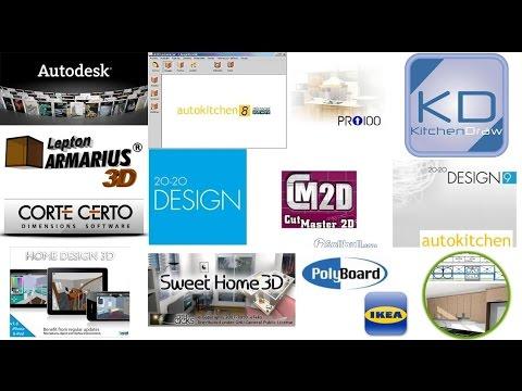 Programa de dise o cocinas y ba os youtube for Programa para disenar closet y cocinas