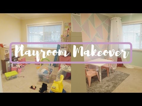 playroom makeover!
