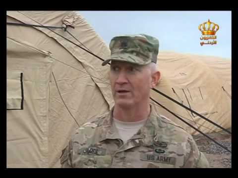 English News at Ten on Jordan Television 26-12-2016