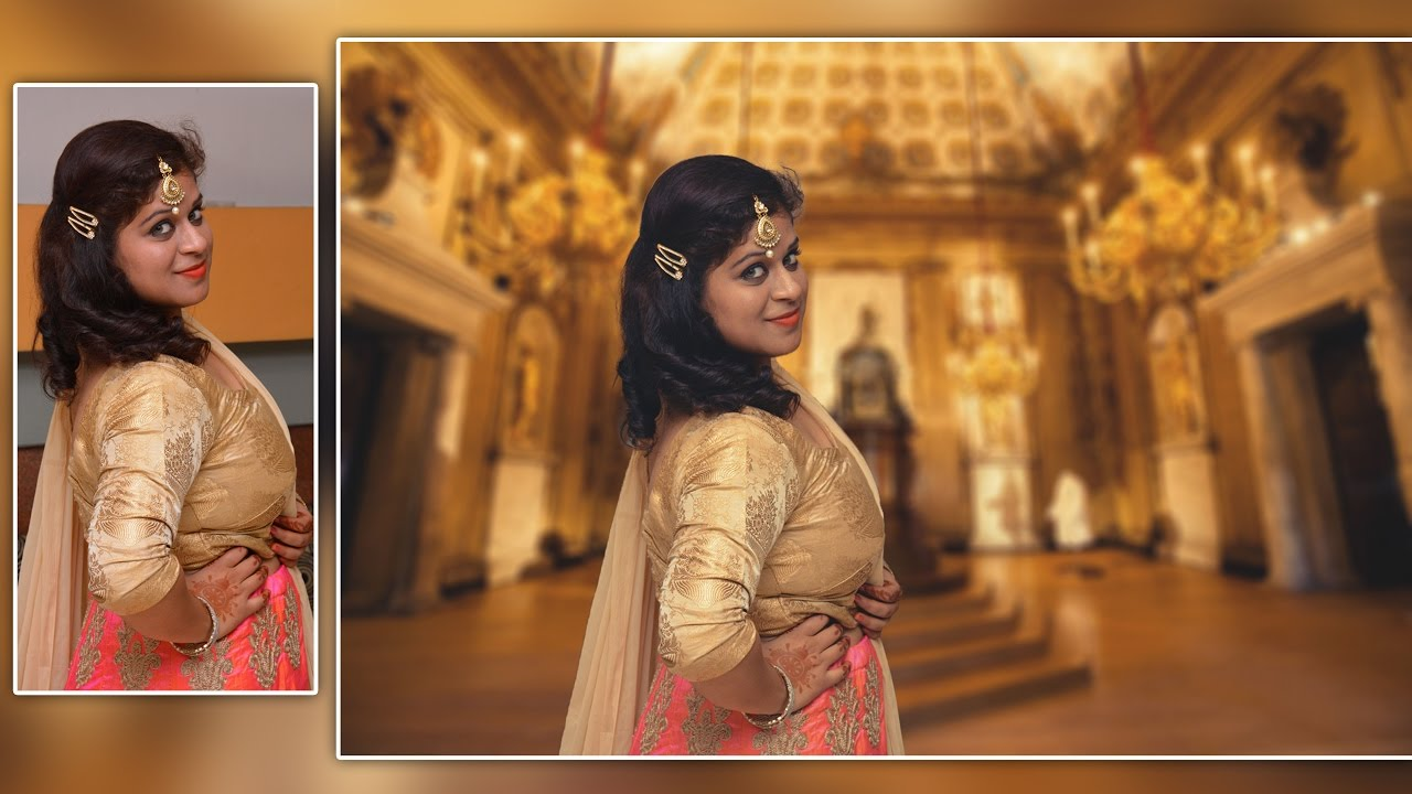 How To Edit Photo Like An Indian Bride Photo Manipulation In