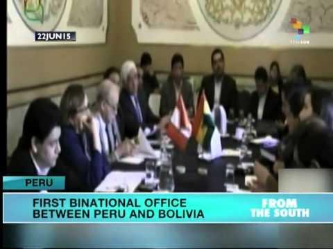 1st Ever Peru-Bolivia Cabinet Meeting Underway