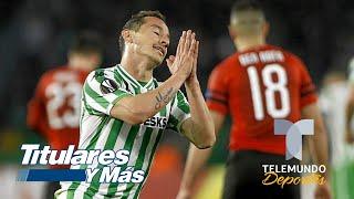 ¡Se acabó el sueño! Guardado y Lainez se despiden de la Europa League | Telemundo Deportes