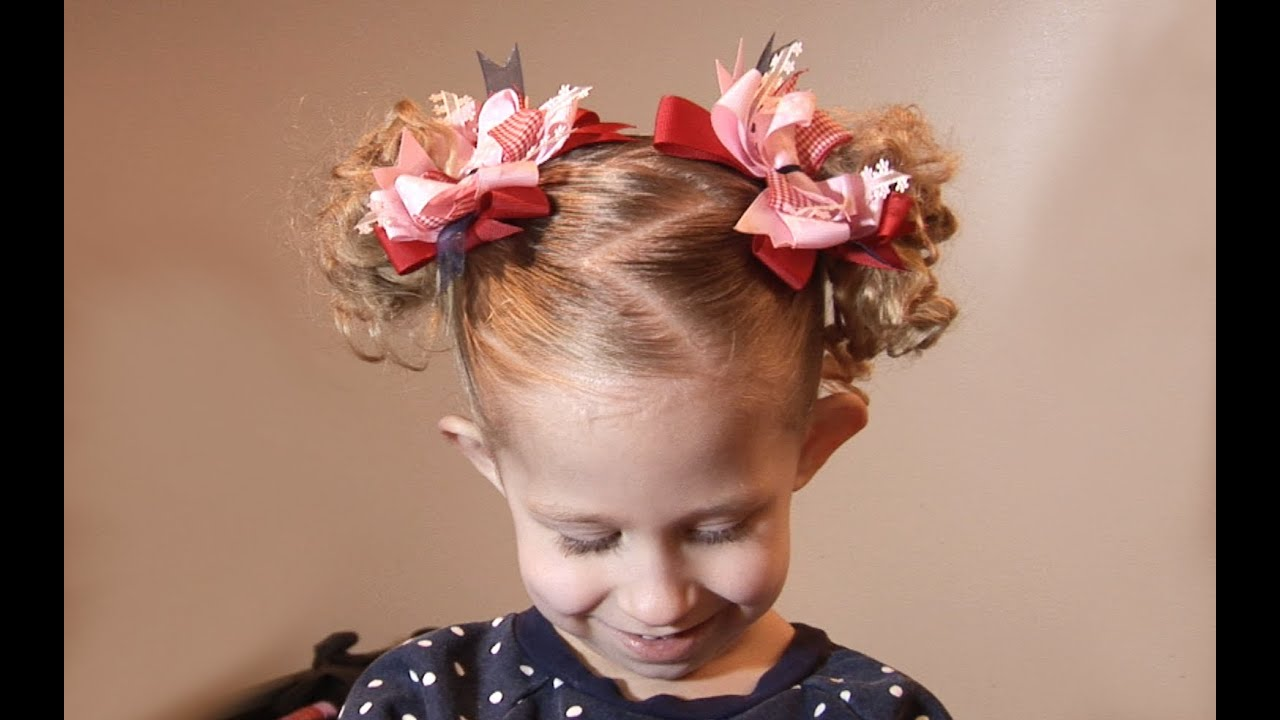 Ziggy Tails // Cute Hairstyles for little Girls - YouTube