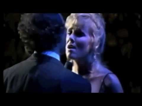 "Julio Iglesias And Janey Clewer Duet ""Never, Never, Never"" Barcelona 1988"