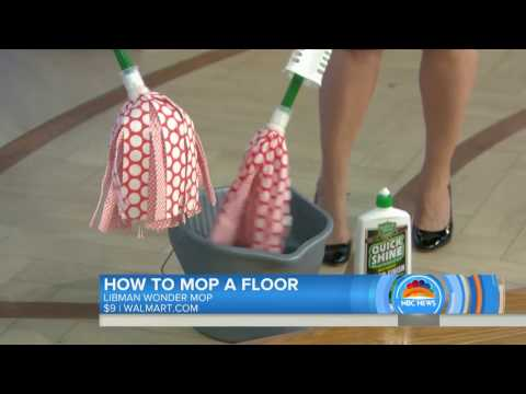 Floor Finish on the Today Show January 17, 2017