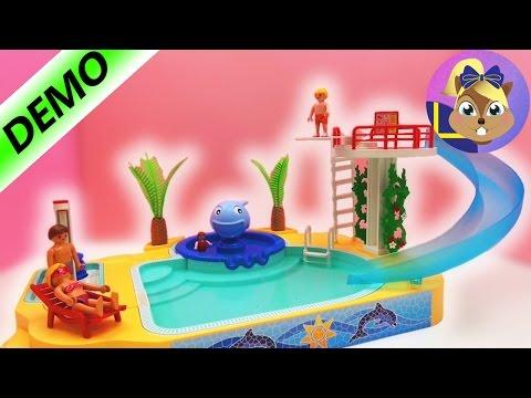 Playmobil summer fun badhus - äventyrsbad - svenska