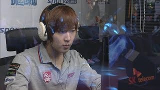 [SPL2014] HerO(IM) vs FlaSh(KT) Set1 Habitation Station -EsportsTV, SPL2014