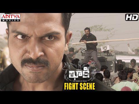 Khakee Movie Scenes | Bharatpur Village Fight Scene | Karthi, Rakul Preet