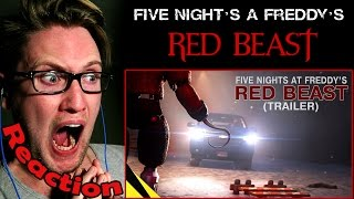 Five Nights at Freddy's Movie: Red Beast (Trailer) REACTION! | A FOXY HORROR MOVIE?! |