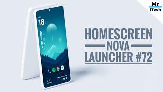 Homescreen Nova Launcher: Simples e Fácil de fazer!