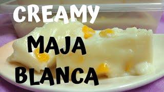 How to cook creamy Maja Blanca - Met&#39s Kitchen