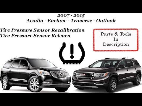 Tire Pressure Sensor Relearn / Reset / Recalibration!!!