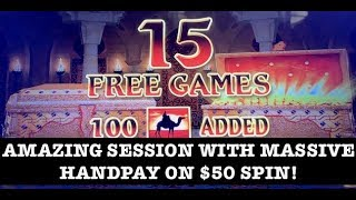 ⭐️FULL SESSIONS ⭐️MASSIVE HANDPAY LIGHTNING CASH SAHARA GOLD ⚡️LINK ⭐️MONOPOLY SLOT MACHINE