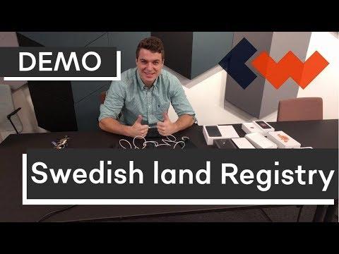 Walk through — Swedish Land Registry Smart Contract