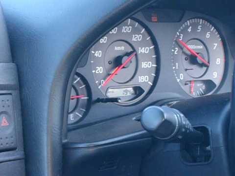 Nissan Skyline R34 GTT lowboost 0,65 bar 308hp 0 to 180