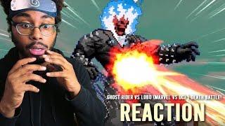 Ghost Rider VS Lobo (Marvel VS DC) | DEATH BATTLE! REACTION