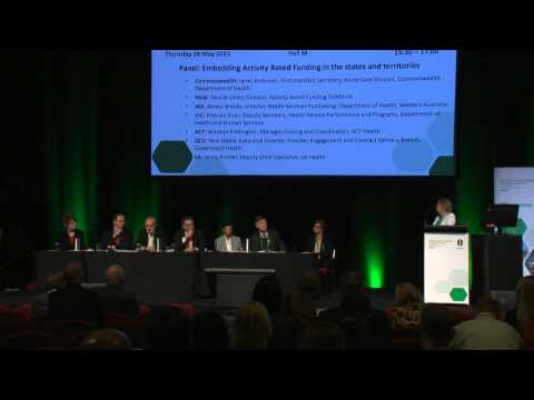 Panel: Embedding Activity Based Funding in the states and territories