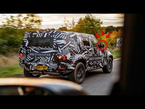 THE NEW 2020 LAND ROVER DEFENDER SPIED TESTING