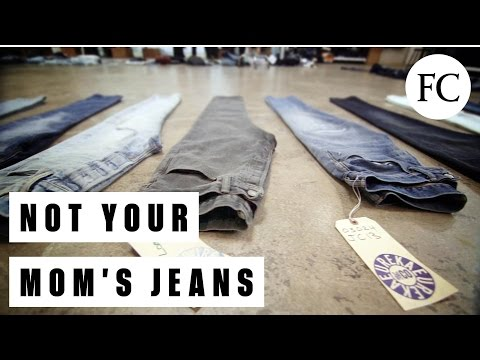 Lasers! Gas! Water-Proof Pants! How Levi Strauss & Co. Keeps Improving Jeans