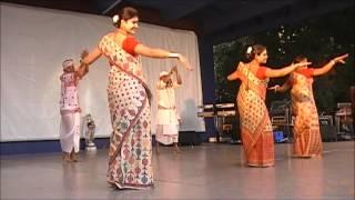 QUEENSLAND ASSAMESE ASSOCIATION- Bihu Dance at Roma Street Parklands, Amphitheatre.Brisbane