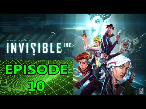 That Wasn't the Drone I was Looking For - Invisible, Inc. Contingency Plan - EP010