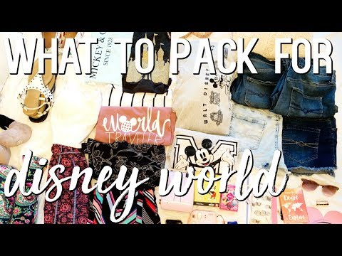 Packing For Disney World! ⎮ MINIMALIST, SIMPLE, EASY