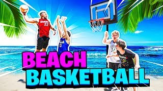 Beach Basketball Mini Hoop 3v3 with 2HYPE House !!