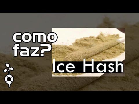 Como fazer Ice Hash ? - GELO SECO - Melhor método - Sem química.