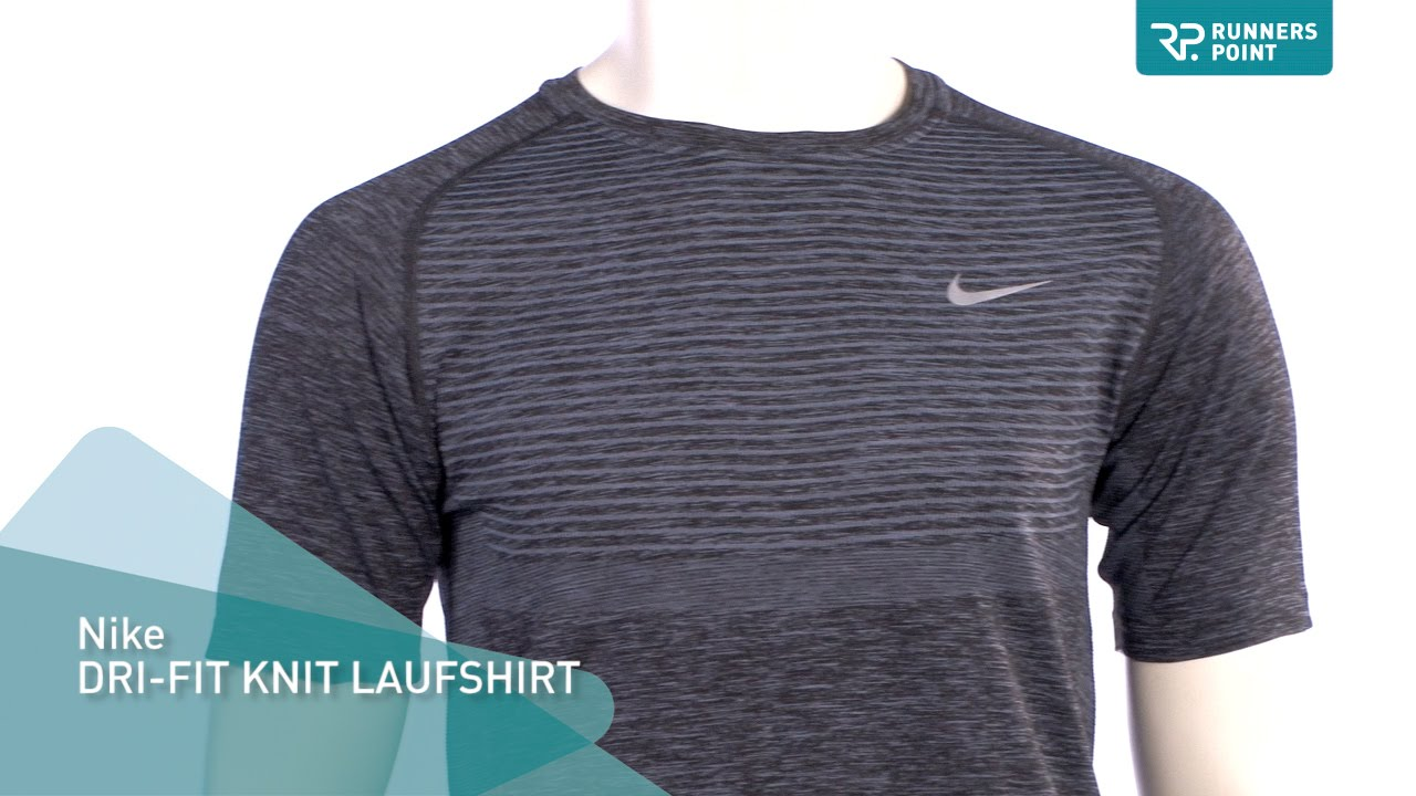 nike dri fit knit short sleeve shirt youtube. Black Bedroom Furniture Sets. Home Design Ideas