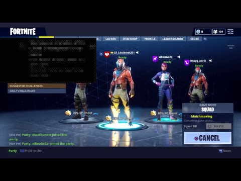 Watch me get a lot of L's in fortnite